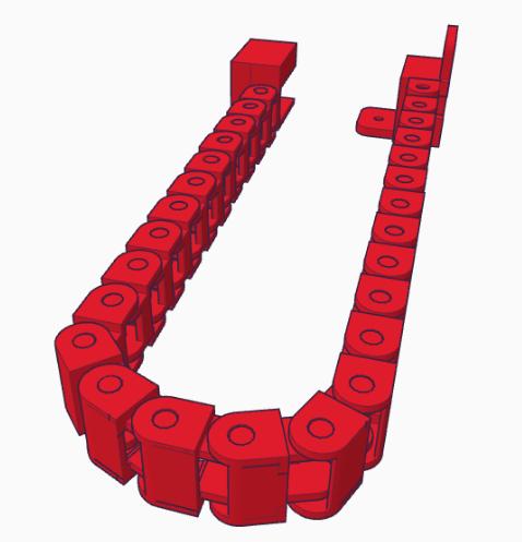 drag chain rechts