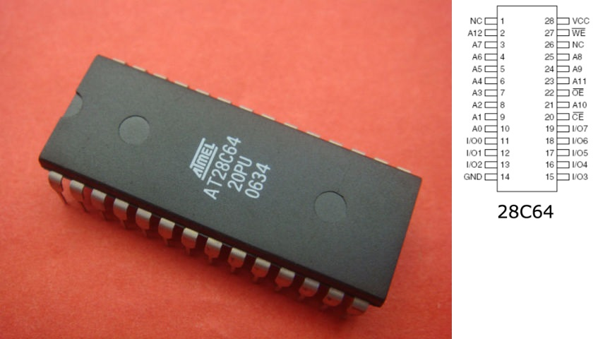 EEPROM Programmer voor C64 Cartridges