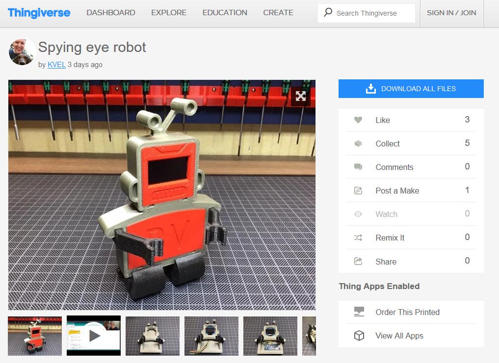 Koens Robot
